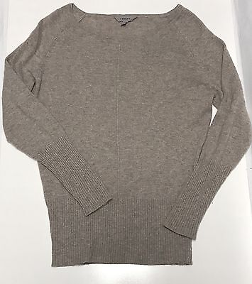 Athleta Women's Long Sleeve 100% Cashmere Pullover Sweater Size Small EUC
