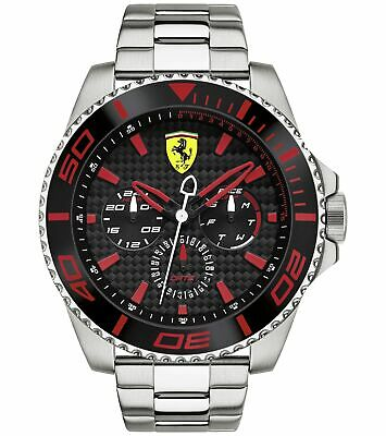 Scuderia Ferrari Men's XX Kers S.Steel Bracelet Watch