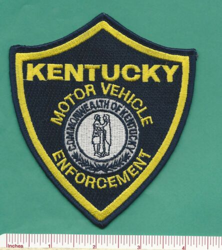 Kentucky KY State Police Commercial Motor Vehicle Law Enf. Shoulder Patch - KVE