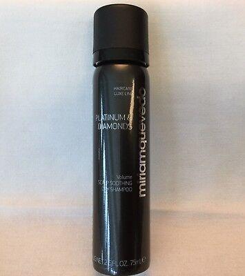 MIRIAM QUEVEDO Platinum & Diamonds Volume Scalp Soothing Dry Shampoo 2.5 oz new
