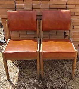 Vinyl retro Parker chairs Mosman Mosman Area Preview