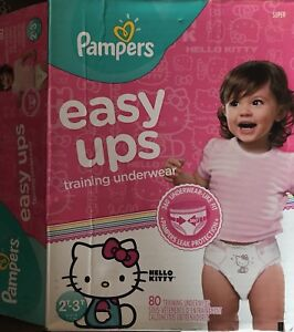 Girl's Sz. 2T-3T Pampers EasyUps Underwear. Paid $31.49...$20.00