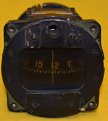 Bendix Aviation Pioneer ACUS Army Type B-16 Wet Aviation Compass Free Shipping