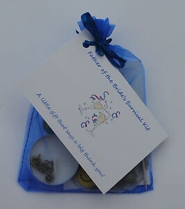 Mother of Bride gift  Mother of  Groom present. Thank you *Novelty Survival Kit*