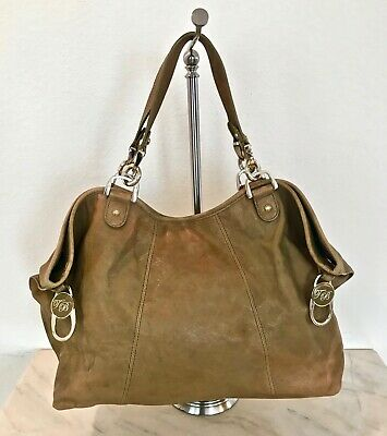 - Ted Baker Rocket Dog Clip Leather Tote DISTRESSED