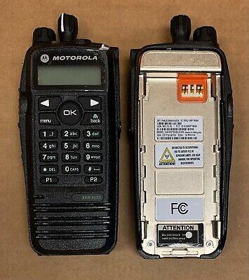 Motorola Xpr6550 Tbro Gps Uhf2 Complete Aah55tdh9la1an - 2 Pc