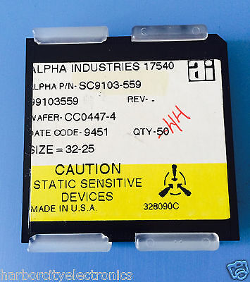 Sc9103-559 Alpha Industries Capacitor Chip Rf Microwave Product 44units Total