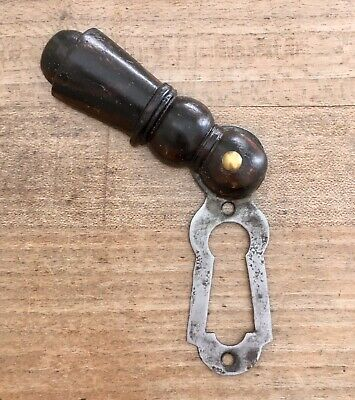 Antique Beehive Escutcheon Keyhole Victorian Old Door Hardware Vintage Wood