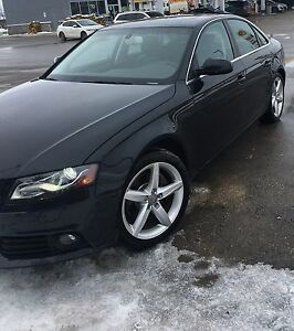 2011 A4 2.0T AWD Fully loaded with Navi Black on Black