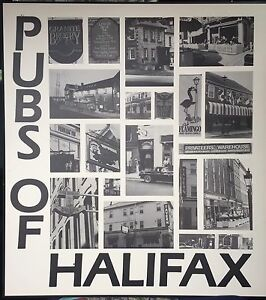 """""""Pubs Of Halifax"""" Hard Mounted Picture"""