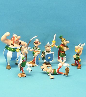 Asterix Obelix Römer DIE PRÜGELEI : 7 Figuren komplett PLASTOY 2015