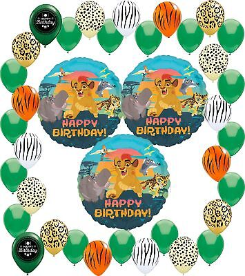 Lion Party Supplies (Lion Guard Party Supplies Happy Birthday Balloon Decoration Bundle)