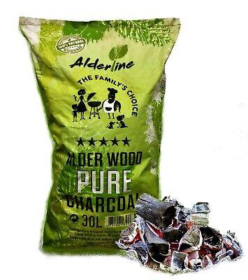 Alderline Natural Restaurant Grade Lumpwood Charcoal for BBQ Barbecues Char Coal
