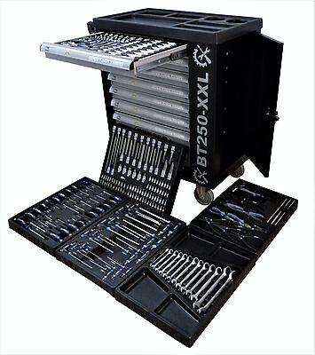 Werkstattwagen gefüllt mit Werkzeug Werkzeugwagen Werkzeugkiste Werkzeugschrank