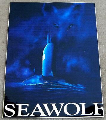 US Navy Decal - Sticker - USS Seawolf SSN 21 - SSN 575 - SS197