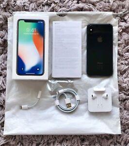 iPhone X - Space Grey, 256GB (accessories, new $448.95 screen)