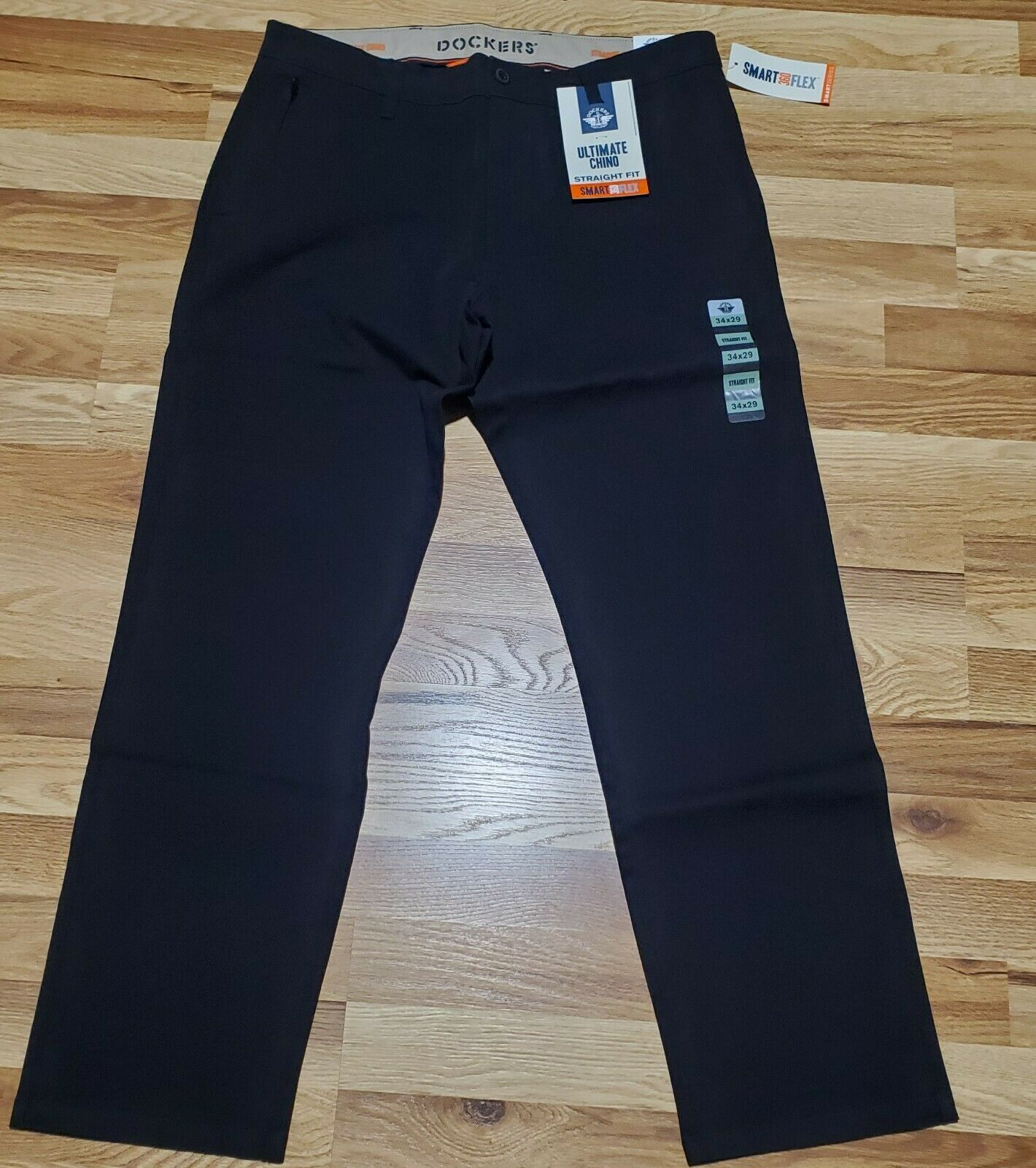DOCKERS Ultimate Chino Pants Smart 360 Flex Straight Fit Fle