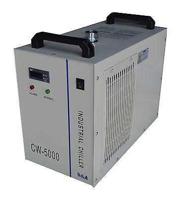 110v Industrial Water Chiller Cw-5000dg For 80w100w Laser Tube Cooling