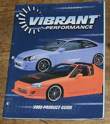 VIBRANT Tuner performance parts  2003 Dealer Catalog USA Edition