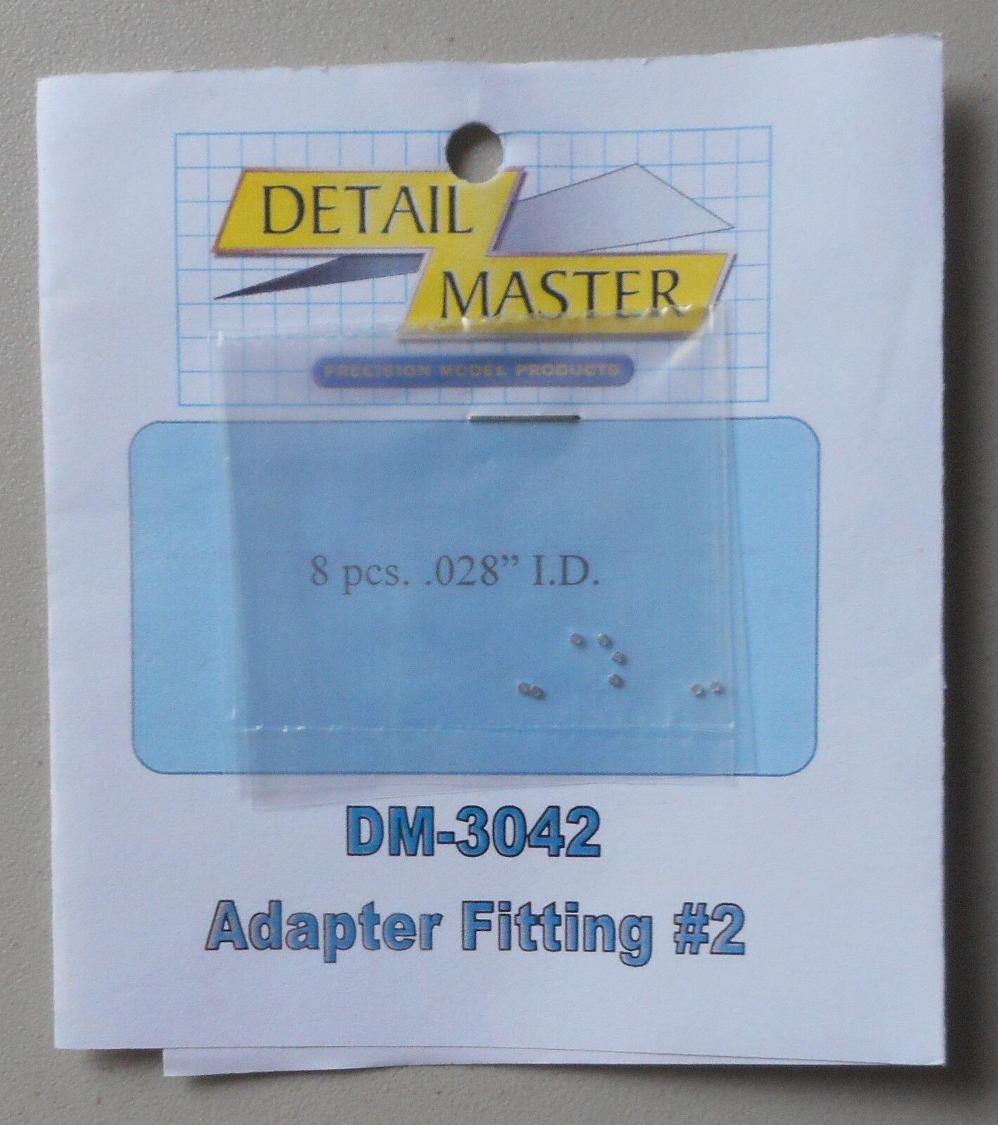 ADAPTER FITTING #2 .025 1:24 1:25 DETAIL MASTER CAR MODEL AC
