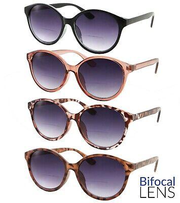 Women's Bifocal Cateye Sunglasses Outdoor Reading Sunglass Readers (Sunglasses Readers Women)