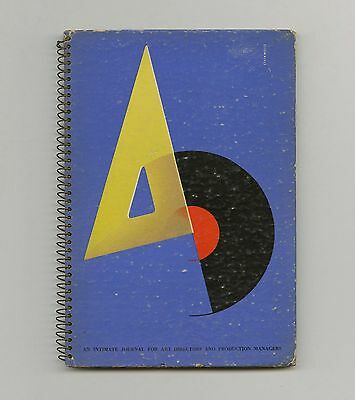 1941 Alex Steinweiss A-D rare Cover + Record Album Graphic DESIGN Herbert BAYER