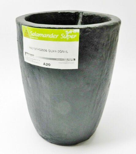 A20 Salamander Crucible Clay Graphite Super A Melting Non Ferrous Metals #20