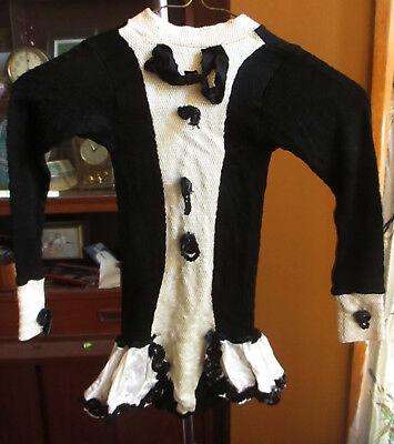 GIRLS SZ 10 Vtg 60s CABARET TUXEDO TAFFY'S - Tuxedo Dance Kostüme