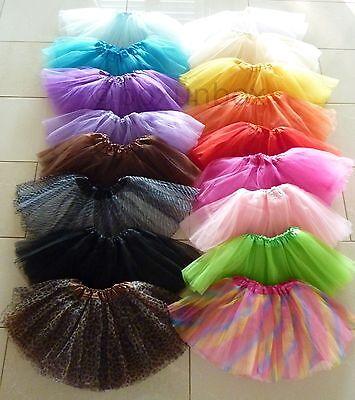 Girls Kids Tutu Party Ballet Dance Wear Dress Skirt Pettiskirt Costume
