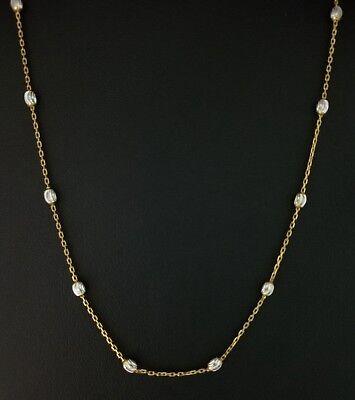 14k Yellow Gold Diamond Cut Ball Bead 18