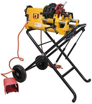 Steel Dragon Tools 300 Compact Pipe Threader Cart Fits Ridgid Dies