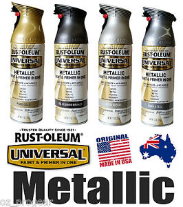 details about rust oleum universal metallic spray paint gold bronze. Black Bedroom Furniture Sets. Home Design Ideas