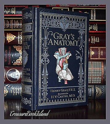 Gray's Anatomy by Henry Gray Brand New Leather Bound Collectible Gift