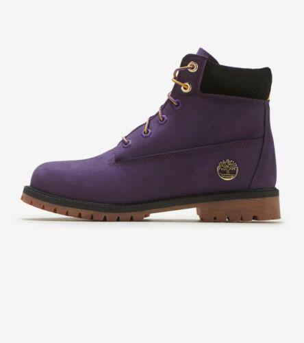 """Junior Timberland 6"""" NBA LA Lakers / TB0A2872527 / A2872 GS Big Kids Purple Prem"""