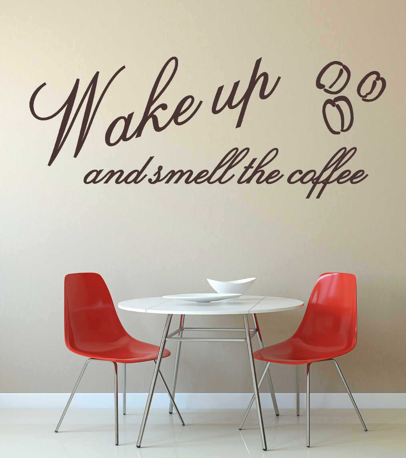 wall decals stickers home decor home furniture diy wake up smell coffee vinyl wall art sticker mural decal kitchen cafe