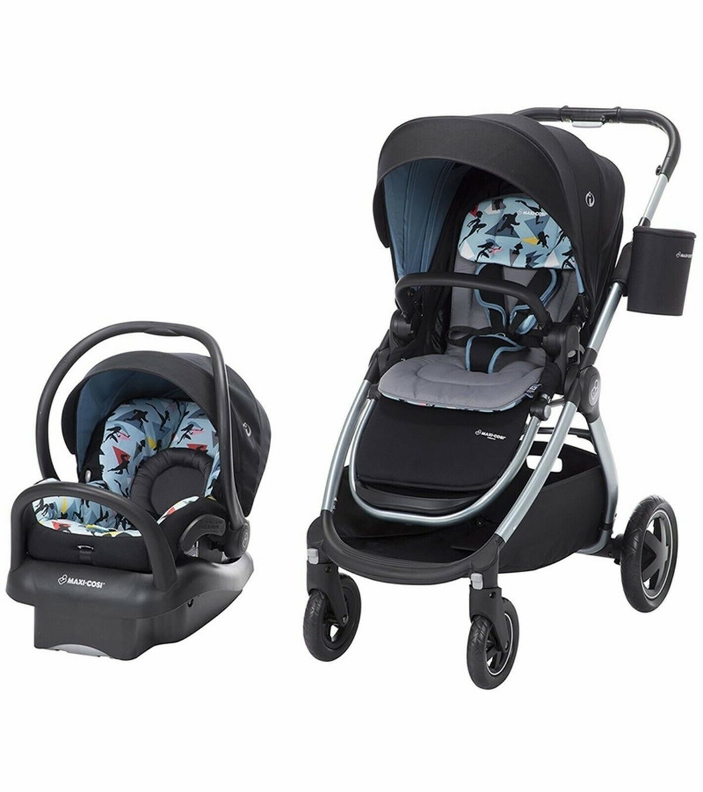 maxi cosi baby stroller with car seat