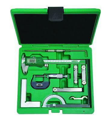 Insize 9-piece Measuring Tool Set 5091-e