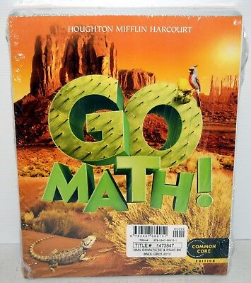 Math Practice Book - GO Math!: Student Edition & Practice Book Bundle Grade 5 2012 by HOUGHTON MIFFLI