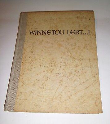 """Antikes Buch """"Winnetou lebt...!"""""""