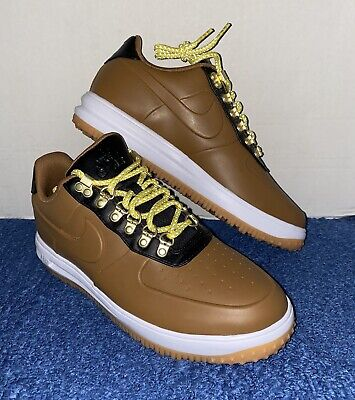 Nike Lunar Force 1 Duckboot Low Size 10.5 Ale Brown AA1125-200