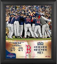 Boston Red Sox 2018 World Series Champs Framed 15 x 17 Collage - Fanatics