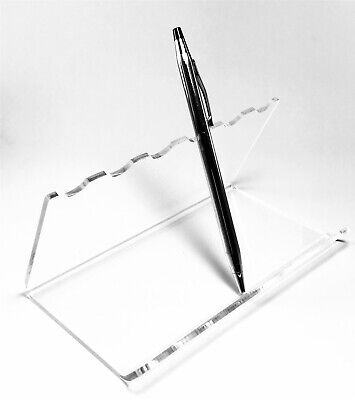 Acrylic Clear 6 Penspoon Display Holder Stand