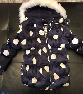 Girl's Down filled Gymboree winter jacket - 4t
