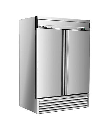 Maxx Cold Two Door Upright Reach In Commercial Sub Zero Frost Free Freezer 49cf