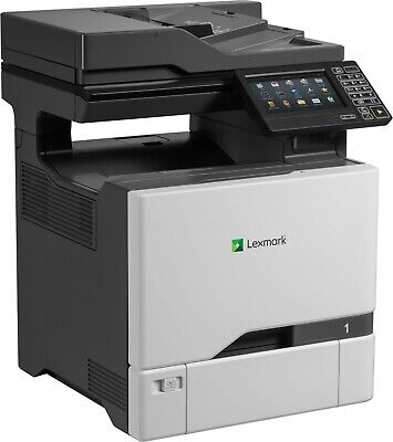 Lexmark Xc4140 Color Copier W Network Scan Copy Fax 40ppm Fully Refurbished