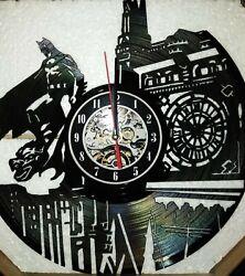 Batman Vinyl Record Clock Movie Wall Art