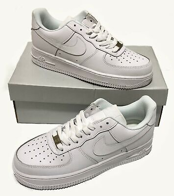 Nike Air Force 1 Uptowns Low White '07 Men's Classic Sneakers Sizes 7-13