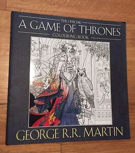 Game of Thrones coloring book - Gift quality Carlton Kogarah Area Preview