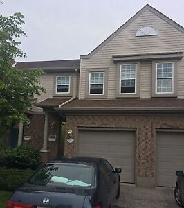 3 bedroom townhome for rent in south Guelph available now