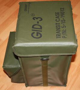 U S Army GID-3 Transit Case isoliert perfekt für Getränke REO HMMWV MUTT ETC